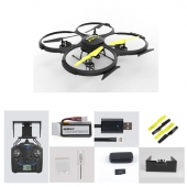 [U818A Wifi] 2.4G 6 Axis Gyro 4CH RC Quadcopter with HD Camera (FPV REAL-TIME) Altitude Mode